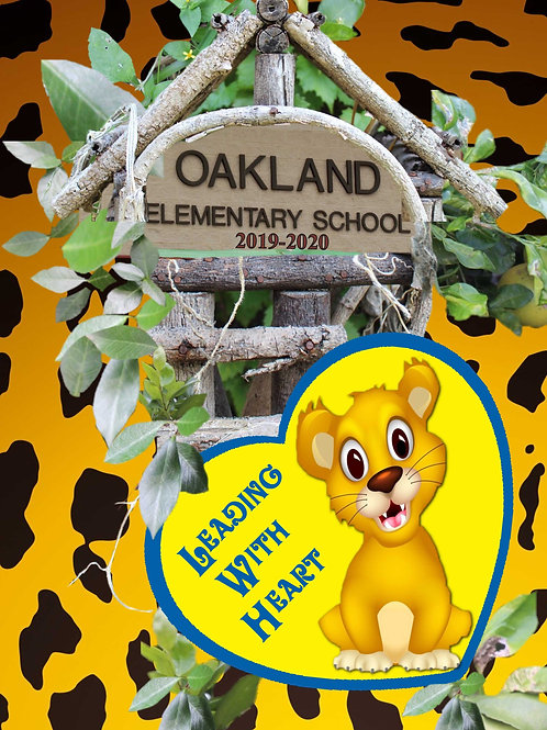 Oakland Wildcat Yearbook 2019/2020 'Leading With Heart'