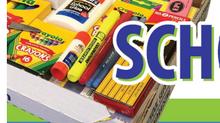 School Supply Sale