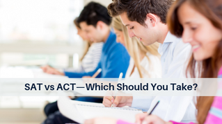 SAT vs ACT—Which Should You Take?