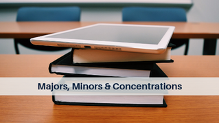 Majors, Minors & Concentrations