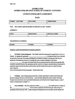 Tattoo Apprentice Contract 10 Clarifications On Tattoo