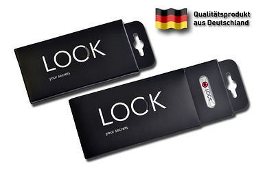 Lock-your-secrets-Verpackung-Zweier-Made