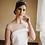 Thumbnail: Tiara Joya plateada de novia. Realizada en metal y porcelana. Cristal. Corona Ti