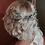 Thumbnail: Semicorona doble joya plateada/Double jeweled silver half crown
