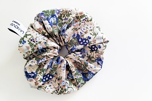 Scrunchie / coletero LIBERTY azul