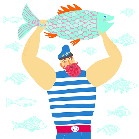 bigstock-Mighty-Sailor-Fisherman-9762275