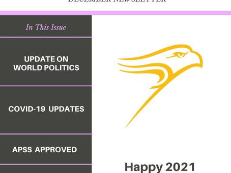 WLU APSS DECEMBER 2020 NEWSLETTER