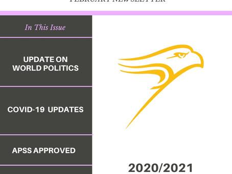 WLU APSS FEBRUARY 2021 NEWSLETTER