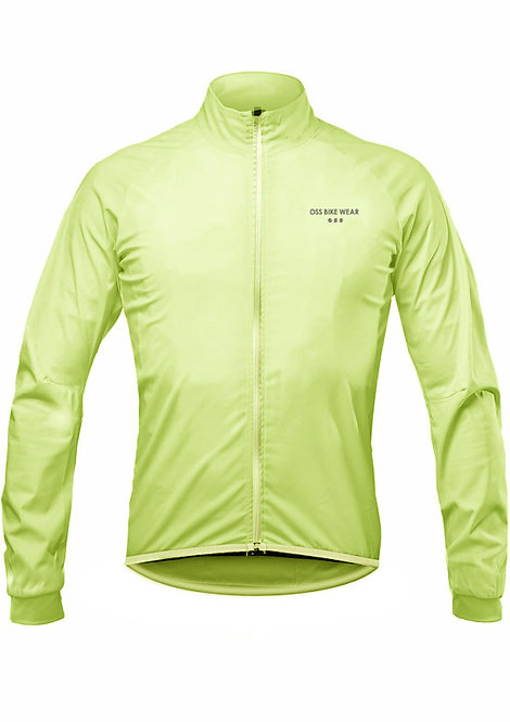 Breath 3layer windbreaker (FRESH LIME)