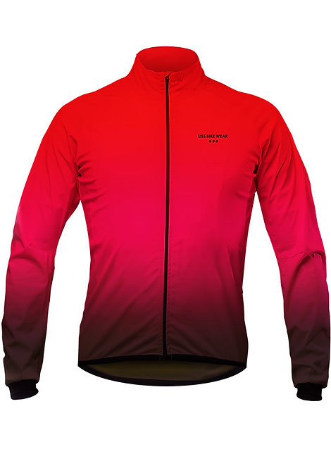 Breath 3layer windbreaker (Red)