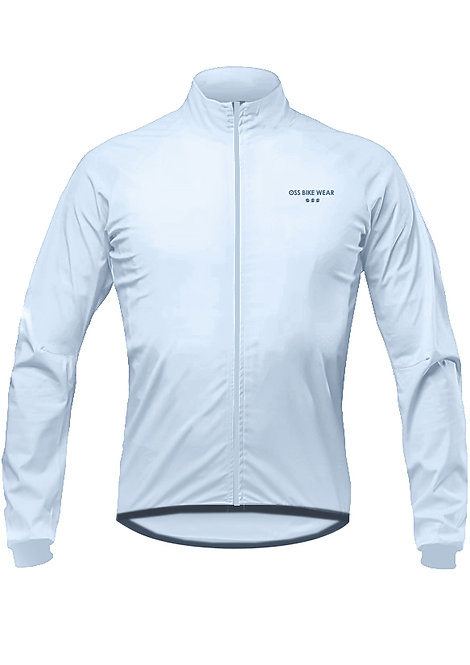Breath 3layer windbreaker (SILVER BLUE)