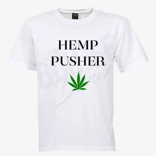 Hemp Pusher T-Shirt