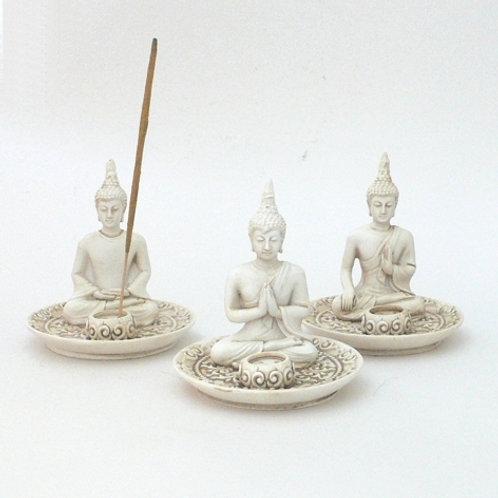 """""""Tibet-Buddha"""" Stäbchen- und Kegelhalter"""