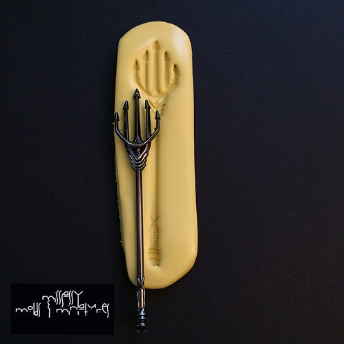 Aquaman Inspired Trident Silicone Mold