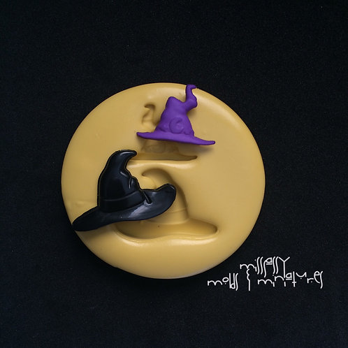 Small Witch Hats Silicone Mold