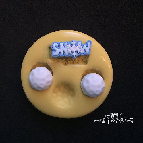 SNOW SILICONE MOLD
