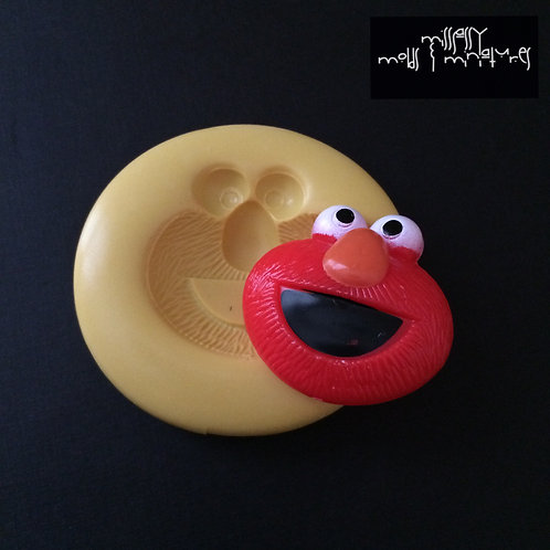 Elmo Inspired Silicone Mold