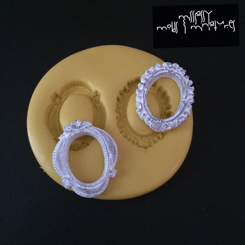Tiny Duo Frame Silicone Mold