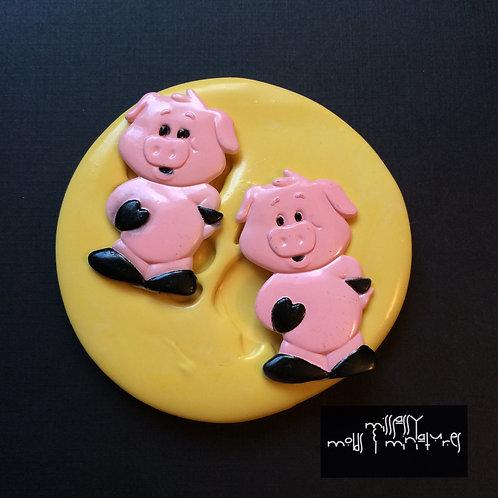 Piggies Silicone Mold