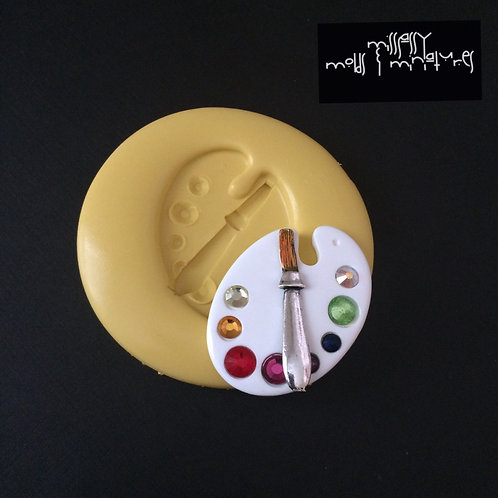 Color Palette Silicone Mold