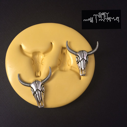 Longhorn Skull Silicone Mold