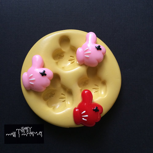 Mouse Thumbs Up Silicone Mold