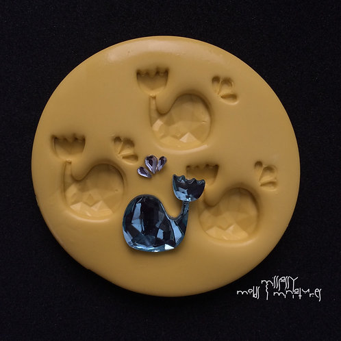 WHALE SILICONE MOLD