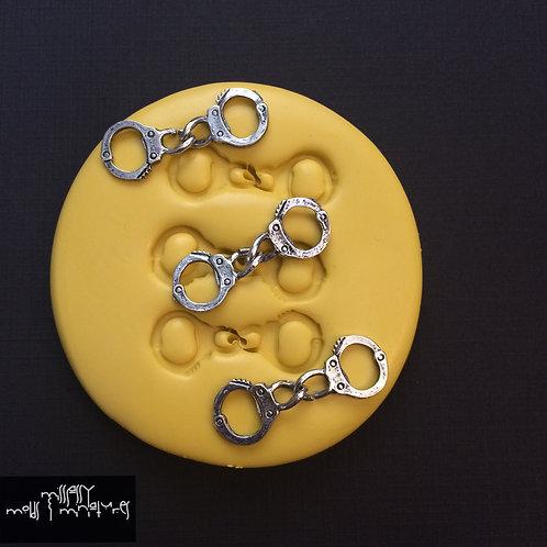 Small Handcuff Silicone Mold