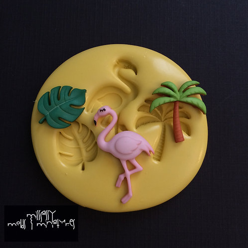 Tropical Silicone Mold