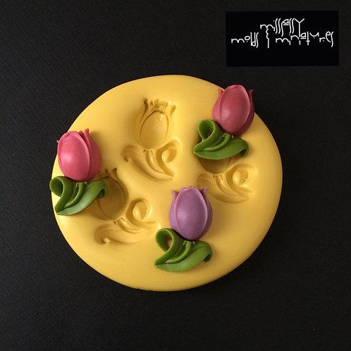 Tulip Silicone Mold