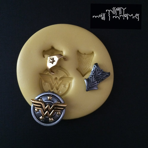 Wonder Woman Inspired Silicone Mold