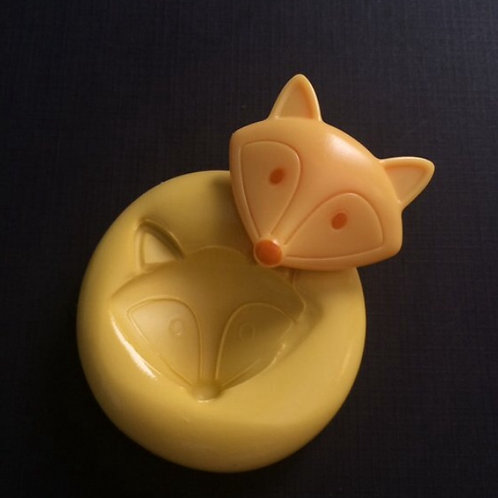 Fox Silicone Mold