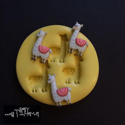 Llamas Silicone Mold