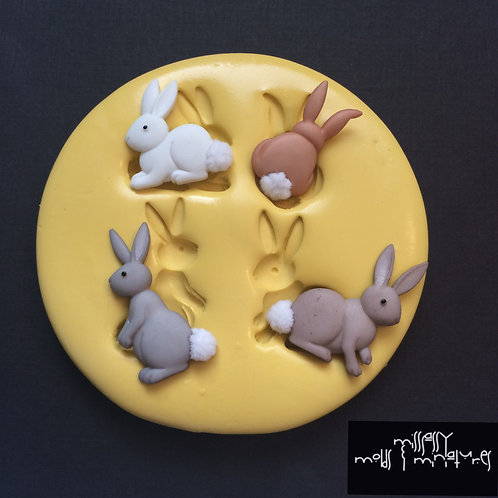 Bunnies Silicone Mold