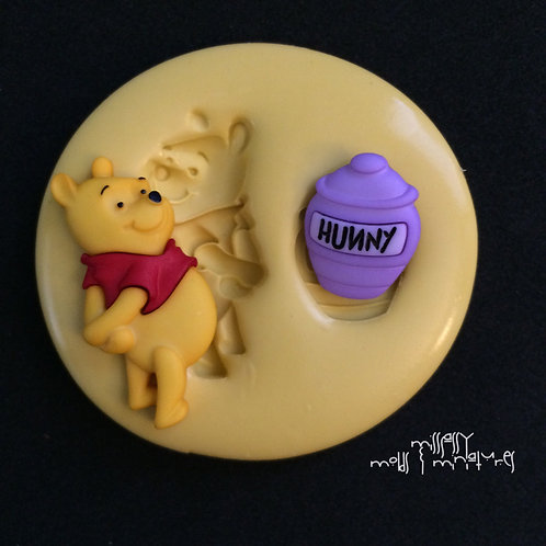POOH INSPIRED SILICONE MOLD
