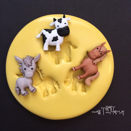 ANIMALS SILICONE MOLD #2