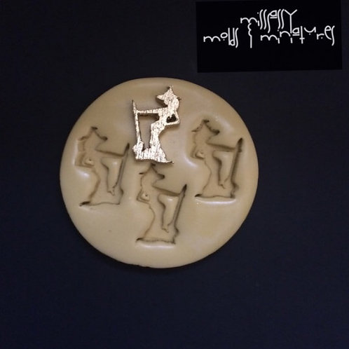 Sexy Witch Silicone Mold