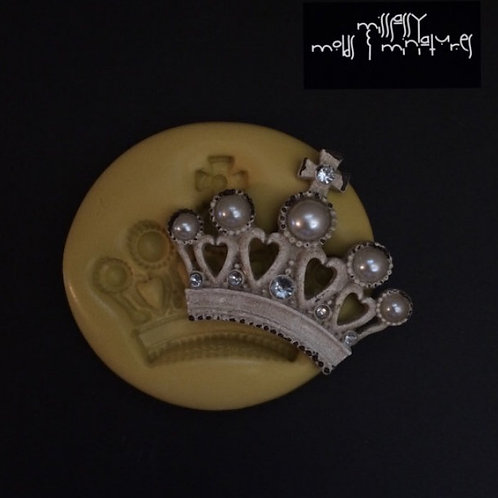 Large Crown Silicone Mold