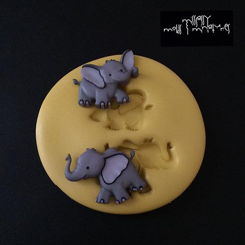 Elephant Silicone Mold #1