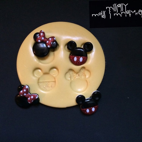 Mouse Inspired Silicone Mold