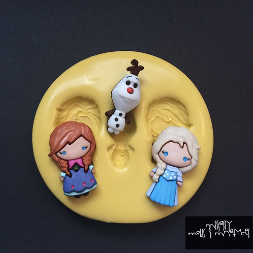 Frozen Inspired Silicone Mold