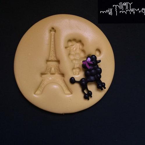 Paris Silicone Mold