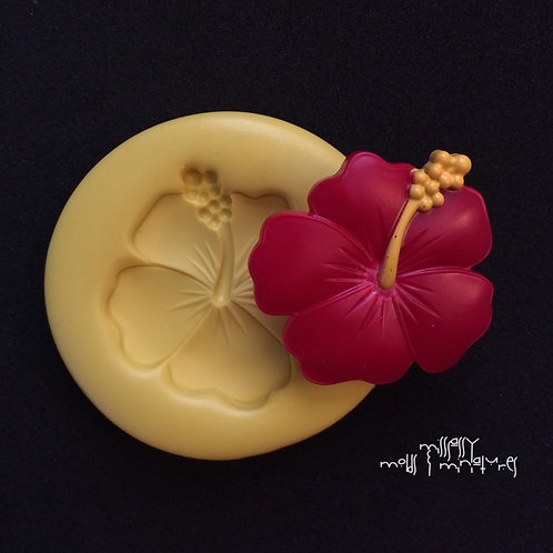 HIBISCUS SILICONE MOLD