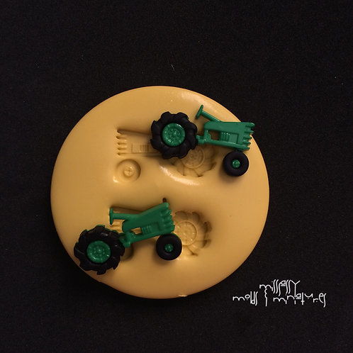TRACTOR SILICONE MOLD