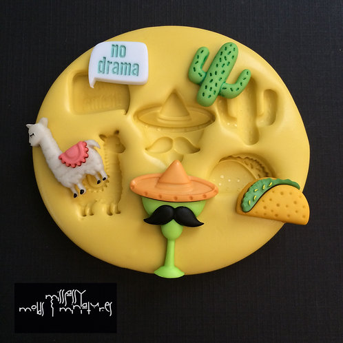 Mexican Vibes Silicone Mold