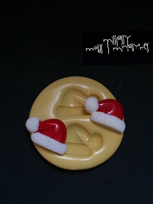 Santas Hat Silicone Mold