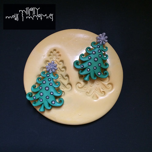 Xmas Tree Silicone Mold