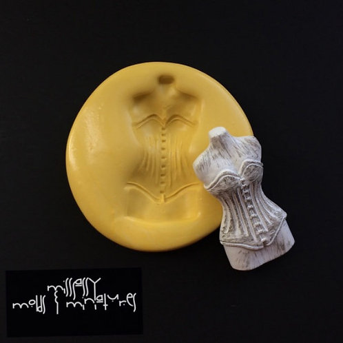 Corset Mannequin Silicone Mold