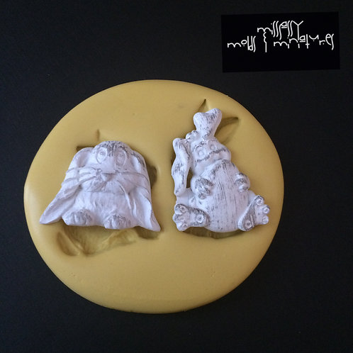 Bunnies Silicone Mold #3