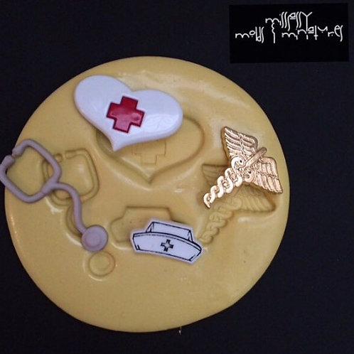 Nurse Silicone Mold